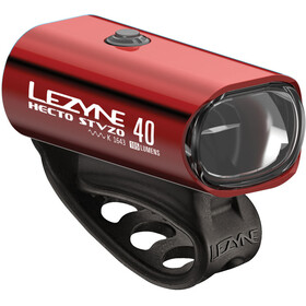 Lezyne LED Hecto Drive 40 LED Front Light red